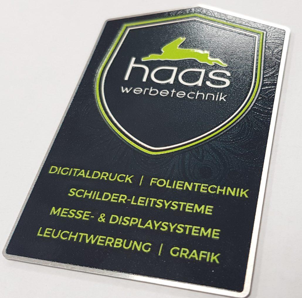 3d Uv Druck Reliefdruck Haas Werbetechnik