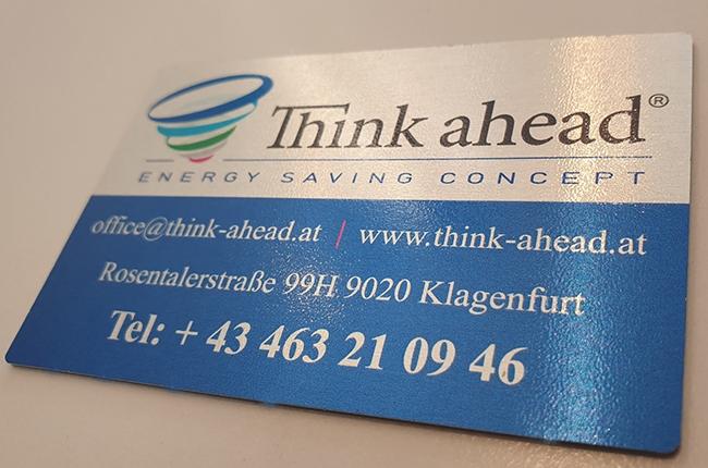 Edel Visitenkarten Namensschilder Haas Werbetechnik